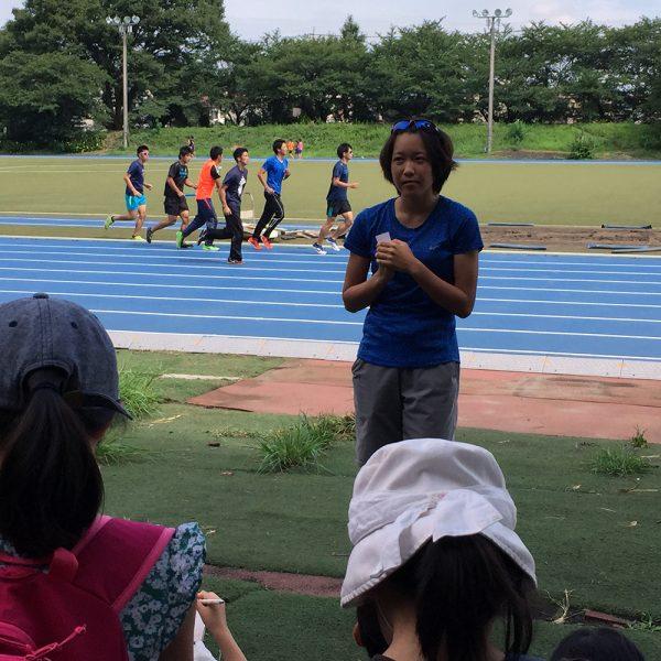 8/3(水)東京オリンピックを目指す山田はな選手 × 小学生