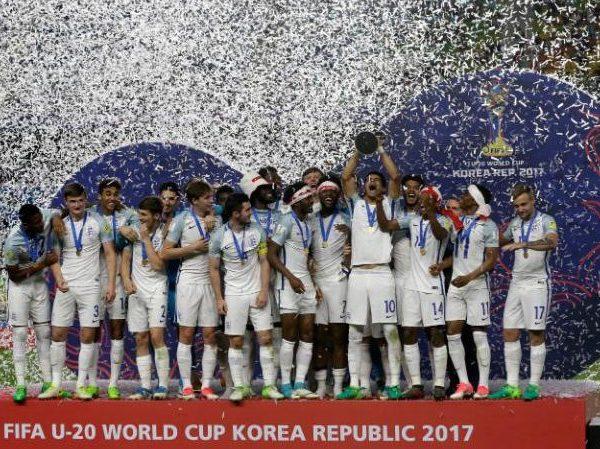 イングランドU20代表チームワールドカップ優勝