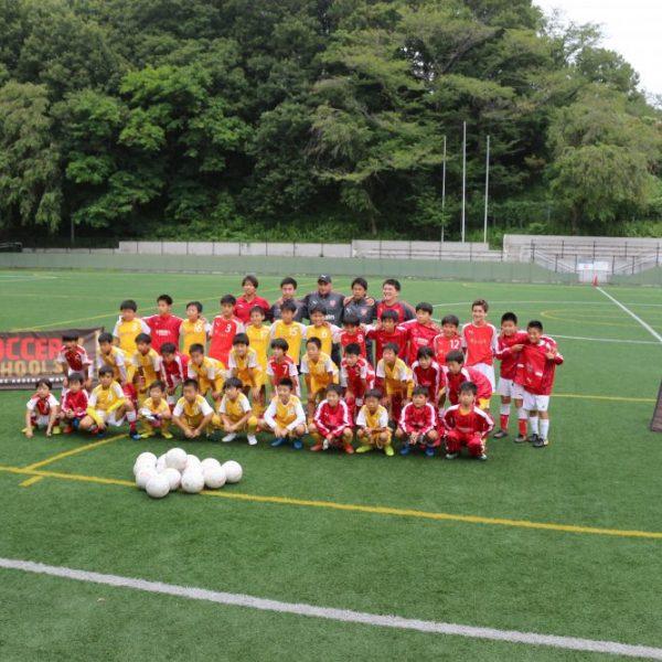 アーセナルサッカースクール東京 サマーインテンシブキャンプ2018 満員御礼